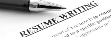 resume writing for fresh MBA